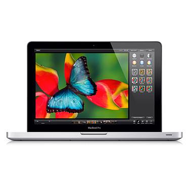 "Apple MacBook Pro 13"" (MD101F/A) Intel Core i5 (2.5 GHz) 4 Go 500 Go 13.3"" LED Graveur DVD Wi-Fi N/Bluetooth Webcam Mac OS X Lion"