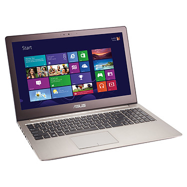 "ASUS ZenBook UX52VS-CN036P Intel Core i7-3537U 4 Go HDD 500 Go + SSD 24 Go 15.6"" LED NVIDIA GeForce GT 645M Graveur DVD Wi-Fi N/BT Webcam Windows 8 Pro 64 bits (garantie constructeur 2 ans)"