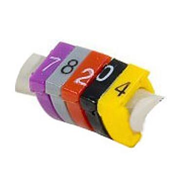 Bagues de repérage pour câbles 5 mm (100 pièces) Bagues de repérage pour câbles 5 mm (100 pièces)