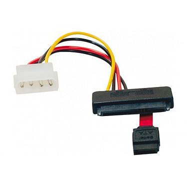 Câble SATA 2-en-1 avec alimentation Molex (pour 1 HDD ou SSD)
