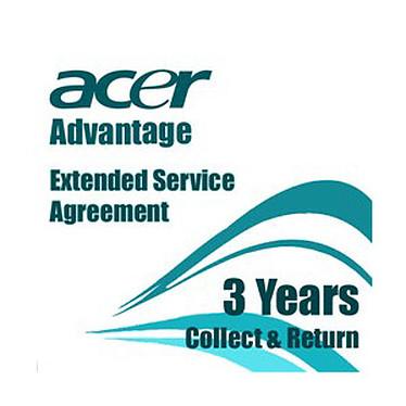 Acer AcerAdvantage Light - Extension de Garantie Light 3 ans - Pièces et main d'oeuvre - Retour atelier