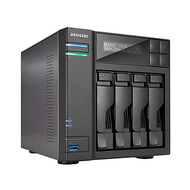 ASUSTOR AS-604T Barebone Serveur NAS 4 baies