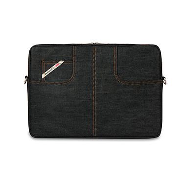 """W.E. Housse de transport en jean pour ordinateur portable (jusqu'à 15.6"""")"""