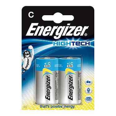 Energizer HighTech C (par 2) Pack de 2 piles alcalines C (LR14) à hautes performances