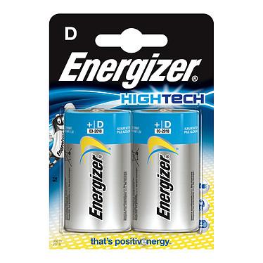 Energizer HighTech D (par 2) Pack de 2 piles alcalines D (LR20) à hautes performances