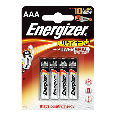 Energizer Ultra+ PowerSeal AAA (par 4)
