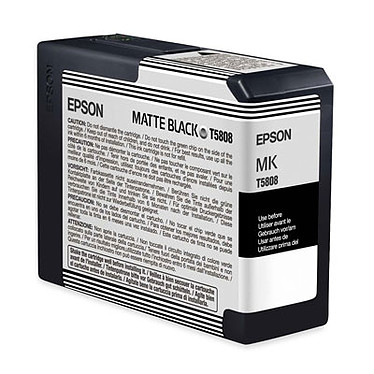 Epson T5808 Epson T5808 - Cartucho de tinta negro mate