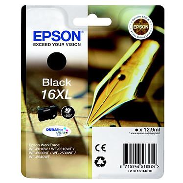 Epson T1631 XL Cartouche d'encre haute capacité noire (500 pages à 5%)
