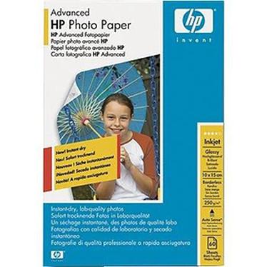 HP Q8008A HP Papier Photo Advanced 10 x 15 cm, papier glacé (60 feuilles)