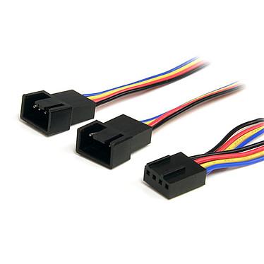 StarTech.com Doubleur d'alimentation pour ventilateurs 4 broches PWM - 30 cm