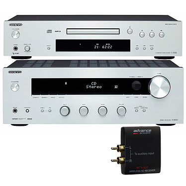 Onkyo TX-8030 + C-7030 Argent + Advance Acoustic WTX 500
