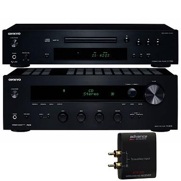 Onkyo TX-8030 + C-7030 Noir + Advance Acoustic WTX 500