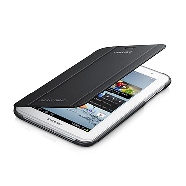 "Samsung Book Cover Gris Foncé (pour Samsung Galaxy Tab 2 7.0"") Etui de protection pour Galaxy Tab 2 7.0"