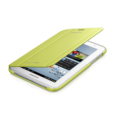 "Samsung Book Cover Vert (pour Samsung Galaxy Tab 2 7.0"") Etui de protection pour Galaxy Tab 2 7.0"