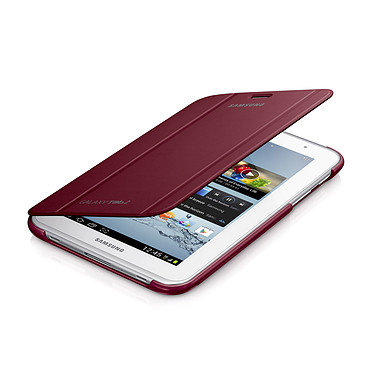 """Samsung Book Cover Rouge (pour Samsung Galaxy Tab 2 7.0"""") Etui de protection pour Galaxy Tab 2 7.0"""