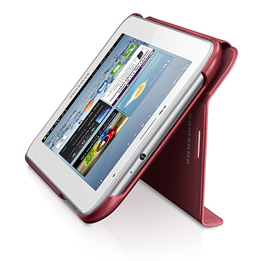 """Acheter Samsung Book Cover Rouge (pour Samsung Galaxy Tab 2 7.0"""")"""