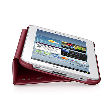 """Avis Samsung Book Cover Rouge (pour Samsung Galaxy Tab 2 7.0"""")"""