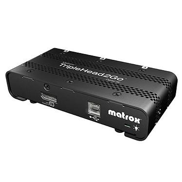 Matrox TripleHead2Go Digital SE Module d'extension graphique externe (1 entrée DisplayPort vers 3 sorties DVI)