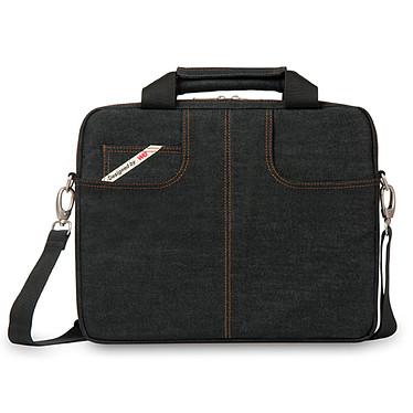 """W.E. Sacoche de transport en jean pour ordinateur portable (jusqu'à 15.6"""")"""