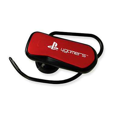 Sony Oreillette Bluetooth Rouge (PS3)