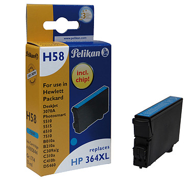 Pelikan cartouche compatible 364XL (Cyan)