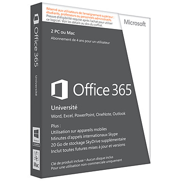 Microsoft Office 365 Université
