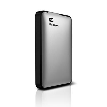"""Western Digital My Passport 2 To Argent (USB 3.0) Disque dur externe 2.5"""" sur port USB 3.0 / USB 2.0"""