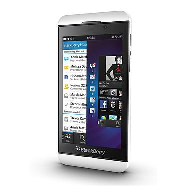 Avis BlackBerry Z10 Blanc