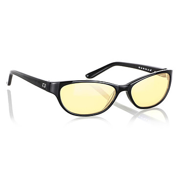 GUNNAR Lunettes Office Joule Onyx Lunettes de protection oculaire pour la bureautique