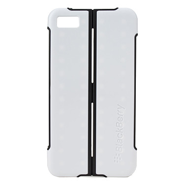 BlackBerry Transform Hard Shell Blanc (ACC-49533-202) Protection stand pour BlackBerry Z10