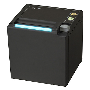 Seiko RP-E10 (Ethernet) Noir Imprimante à tickets thermique compacte Ethernet / USB)