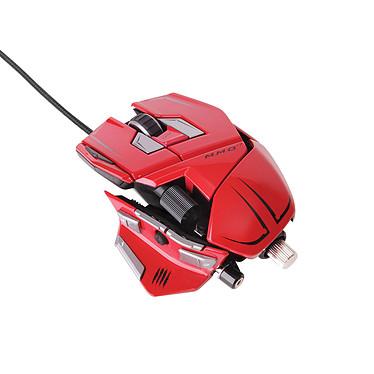 Mad Catz M.M.O 7 Gloss Red Souris laser ajustable pour gamer