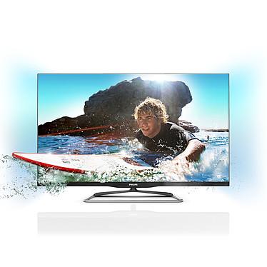 """Philips 42PFL6907H Téléviseur LED 3D Full HD 42"""" (107 cm) 16/9 - 1920 x 1080 pixels - TNT et Câble HD - DLNA - HDTV 1080p - 600 Hz - 4 paires de lunettes Passive 3D"""