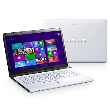 "Sony VAIO E1713D1E/W Intel Pentium 2020M 4 Go 500 Go 17.3"" LED Graveur DVD Wi-Fi N/Bluetooth Webcam Windows 8 64 bits"