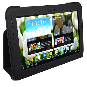 """Heden Protection Slim pour Samsung Galaxy Tab II 10.1"""" et Galaxy Note 10.1"""" Noire"""