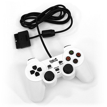 Under Control Shockcontroller Blanc (PS2)
