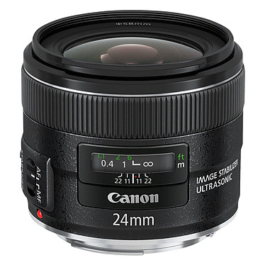 Canon EF 24 mm f/2,8 IS USM Objectif grand-angle stabilisé