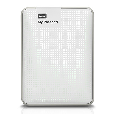 Avis Western Digital My Passport 500 Go Blanc + My Passport Carrying Case (USB 3.0)