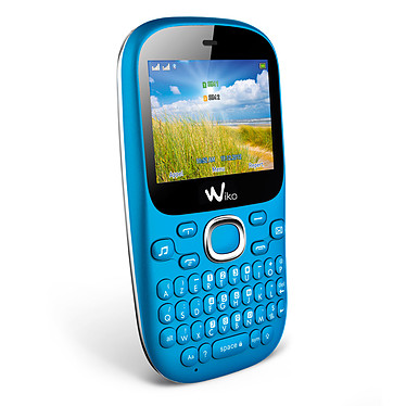 Wiko Minz + Bleu Téléphone 2G Dual SIM avec clavier complet