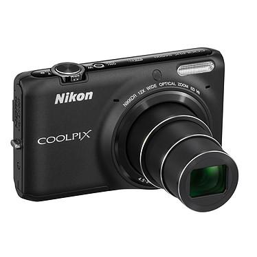 Nikon Coolpix S6500 Noir Appareil photo 16 MP - Zoom grand-angle 12x - Vidéo Full HD - Wi-Fi