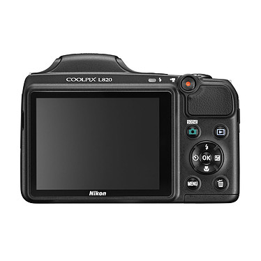 Acheter Nikon Coolpix L820 Noir avec étui Nikon CS-P08