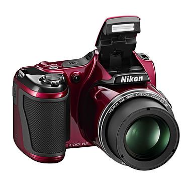 Nikon Coolpix L820 Rouge Appareil photo 16 MP - Zoom grand-angle 30x - Vidéo Full HD