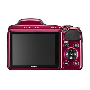 Nikon Coolpix L820 Rouge pas cher