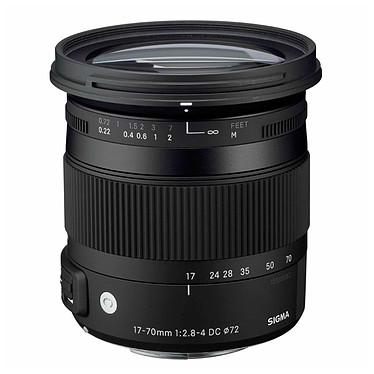 Sigma 17-70mm F2,8-4 DC Macro OS HSM C monture Nikon