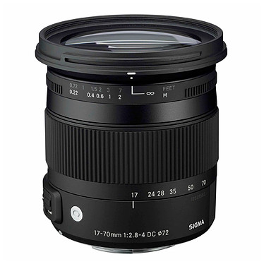 Sigma 17-70mm F2,8-4 DC Macro OS HSM C monture Canon Zoom standard