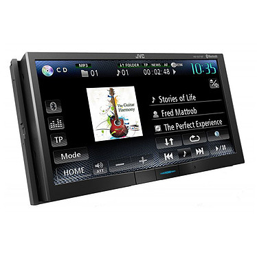 JVC KW-AV71BT Autoradio DVD / CD / MP3 avec port USB pour iPod / iPhone et fonction Bluetooth
