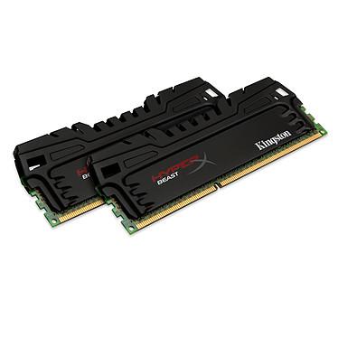 HyperX Beast 8 Go (2 x 4 Go) DDR3 2133 MHz CL11 Kit Dual Channel DDR3 PC3-17066 - HX321C11T3K2/8 (garantie à vie par Kingston)