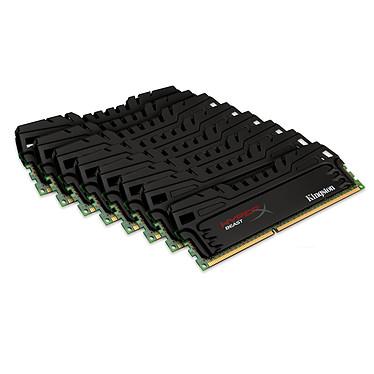 Kingston HyperX Beast 64 Go (8 x 8 Go) DDR3 1866 MHz CL10
