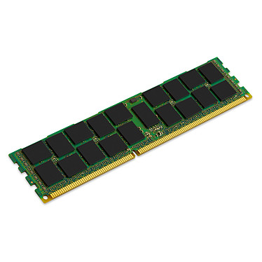 Kingston ValueRAM 8 Go DDR3 1600 MHz ECC Registered CL11 DR X4 (Hynix) RAM DDR3 PC3-12800 ECC Registered - KVR16R11D4/8HE (garantie à vie par Kingston)