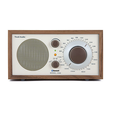 Tivoli Audio M1 BT Beige / Noyer Radio inalámbrica Bluetooth AM/FM compatible con iPod